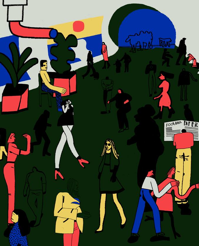 Elliot Freeman - Are we all living underground
