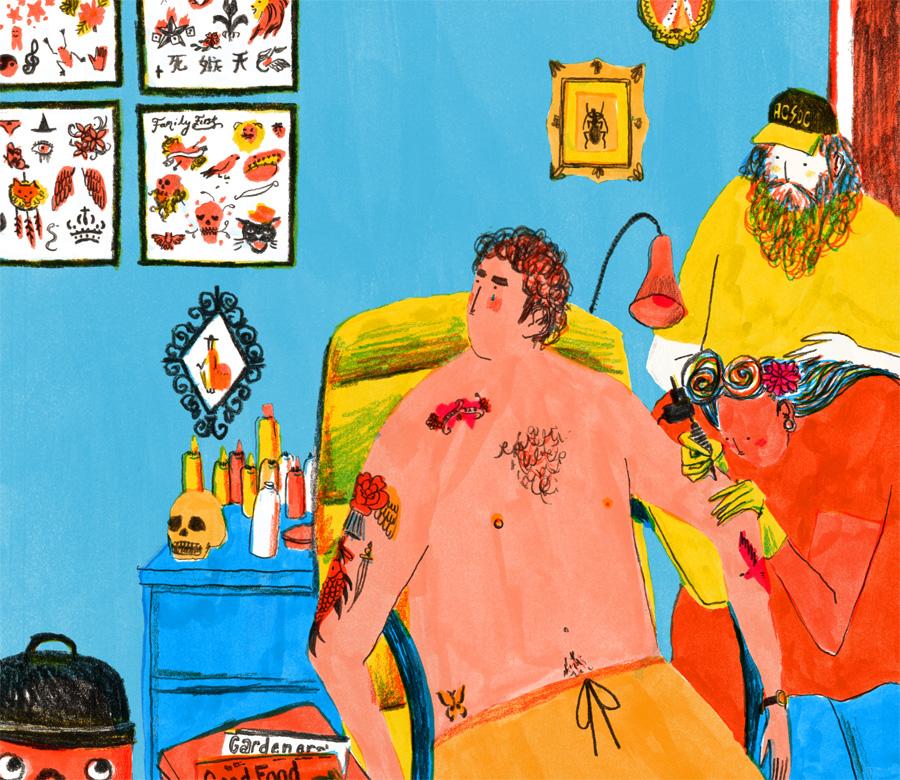 Mouni Feddag - Ilustratie
