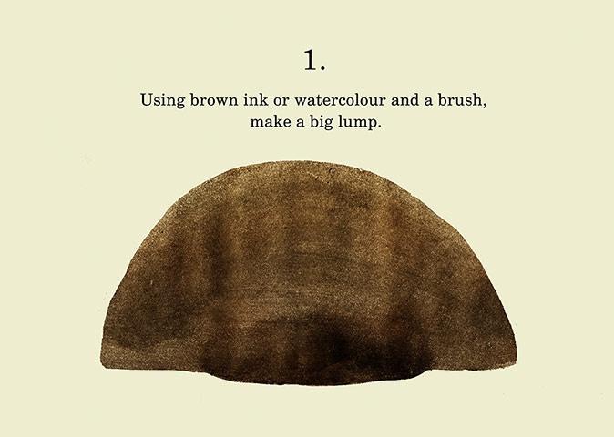 Step 1 - Cum sa desenezi un Urs